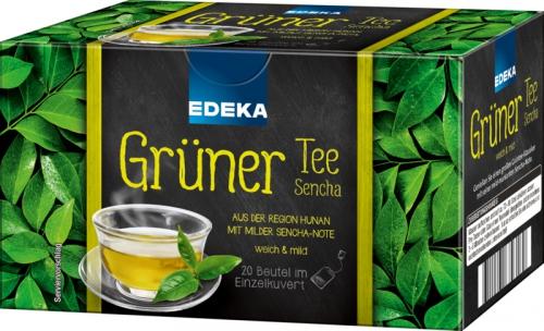 Grüner Tee Sencha, Januar 2018