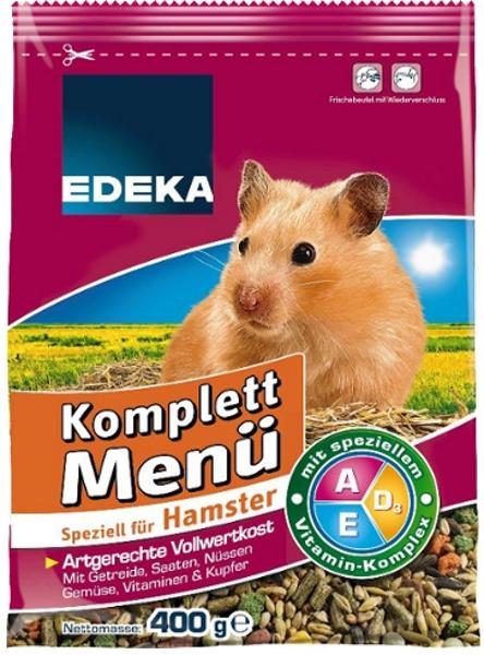 Komplettmenü für Hamster, Januar 2018