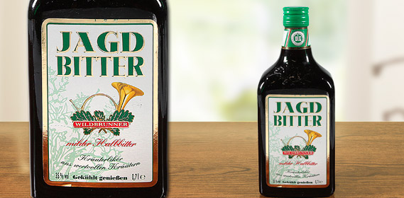 Jagdbitter Kräuterlikör, September 2010