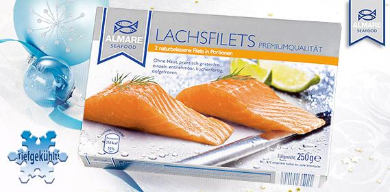 Lachsfilets, 2er, Dezember 2011