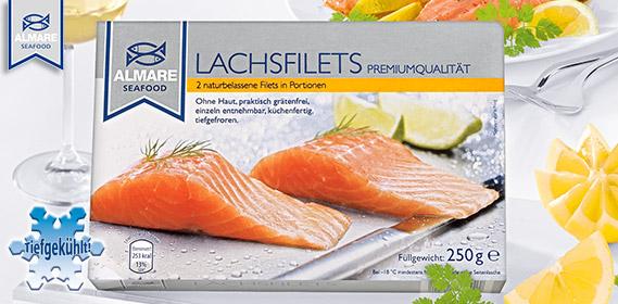 Lachsfilets, 2er, Februar 2012