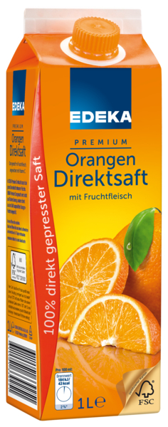 Orangen-Direktsaft, Januar 2018