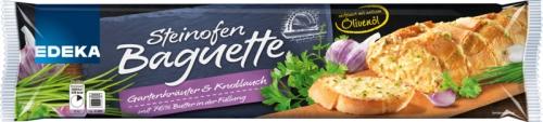 Steinofenbaguette Gartenkräuter & Knoblauch, Dezember 2017