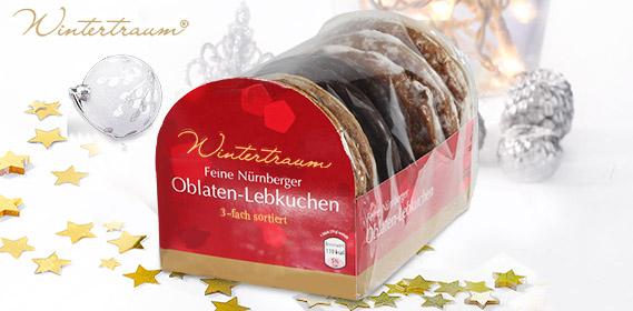 Oblaten-Lebkuchen, feine Nürnberger, Oktober 2010