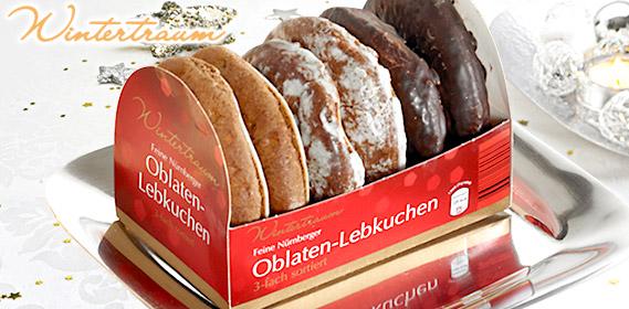 Oblaten-Lebkuchen, feine Nürnberger, Oktober 2011