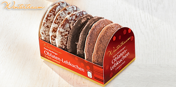 Oblaten-Lebkuchen, feine Nürnberger, November 2012