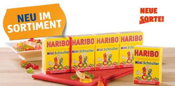 Haribo Minis, Schnuller, Februar 2012