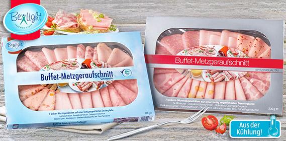 Buffet Metzgeraufschnitt, M�rz 2012