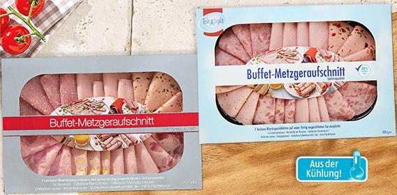 Buffet Metzgeraufschnitt, August 2012
