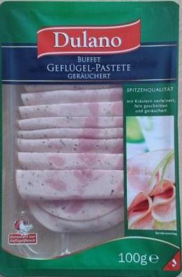 Geflügel-Pastete, September 2017