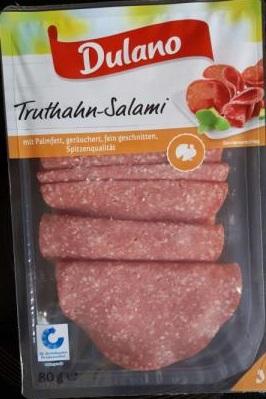 Truthahn-Salami, September 2017