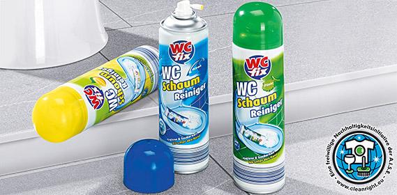 WC-Schaum-Reiniger, Juli 2012