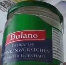 Delikatess Schinken-Würstchen, Juli 2017