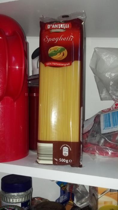 Spaghetti ohne Ei, August 2012