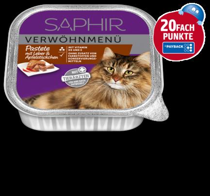 Katzennahrung Verwöhnmenü, Mai 2018