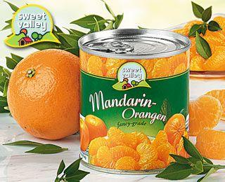 Mandarin-Orangen, Oktober 2007