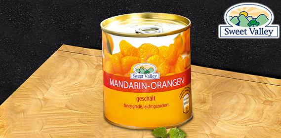 Mandarin-Orangen, Januar 2011