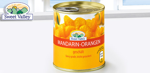 Mandarin-Orangen, August 2012