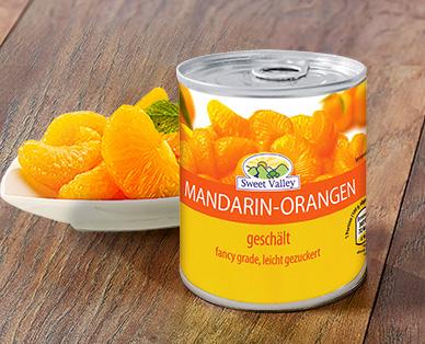 Mandarin-Orangen, Dezember 2014