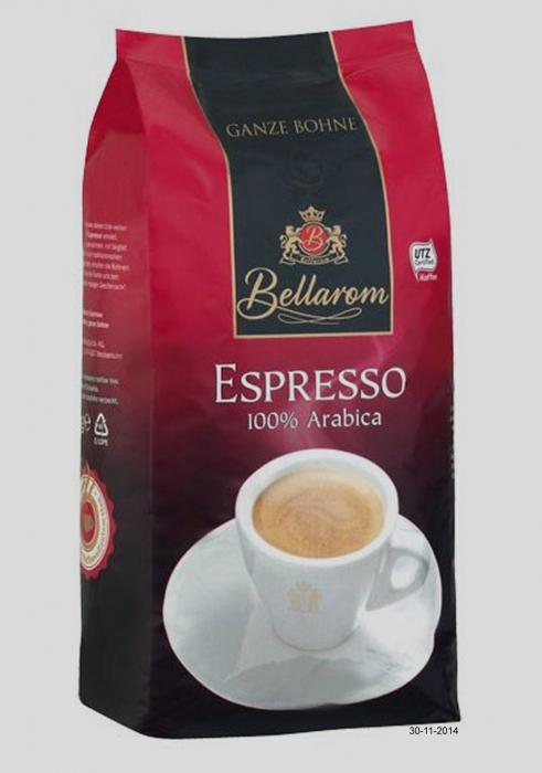 """Caffe Espresso """"Ganze Bohne"""", Dezember 2014"""