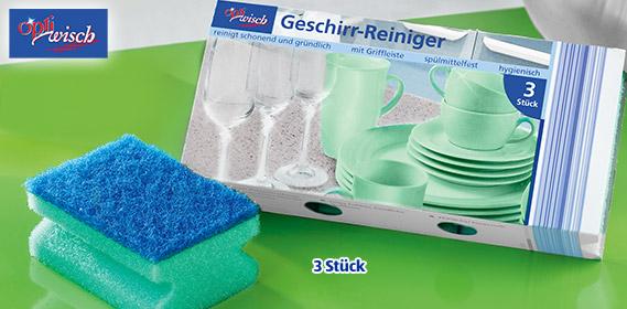 Multi-Funktions-Schwamm / Geschirrschwamm, Februar 2012