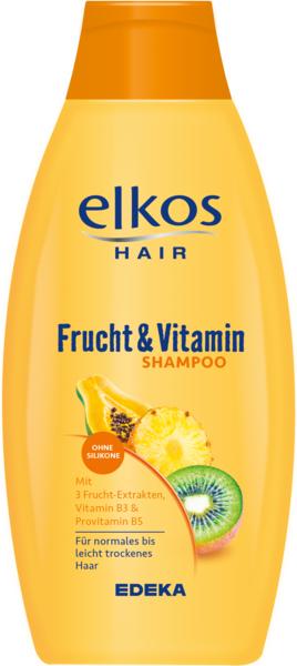 Shampoo Frucht und Vitamin, Dezember 2017