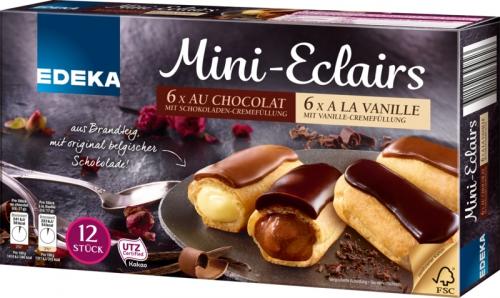 Mini-Eclairs, Dezember 2017