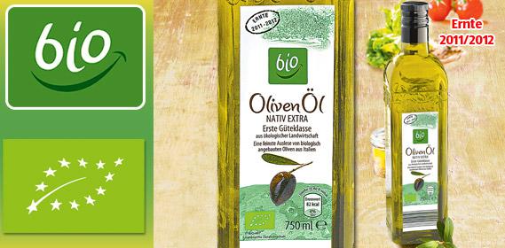 Oliven-Öl, nativ extra, Februar 2012