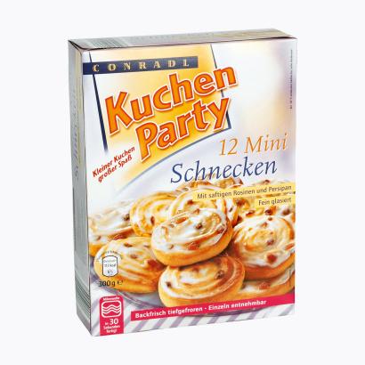 Plunderteilchen/Mini-Kuchenteilchen, Februar 2012