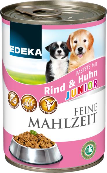 Feine Mahlzeit Junior mit Geflügel, Januar 2018