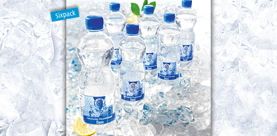 Mineralwasser, Classic, 6x 0,5 L, Januar 2013