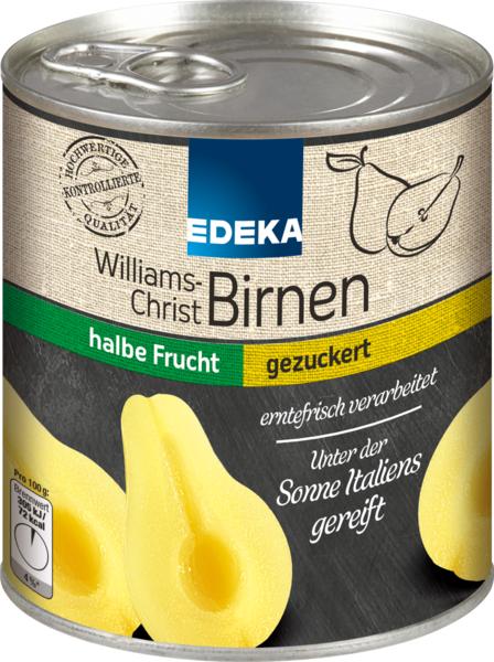Williams-Christ-Birnen, Dezember 2017
