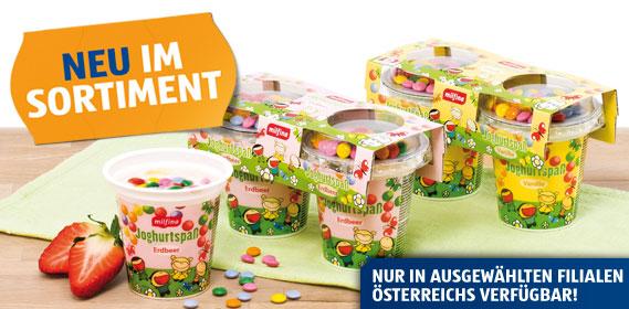 Joghurtspaß für Kinder, April 2012