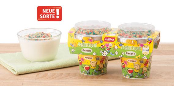 Joghurtspaß für Kinder, April 2013