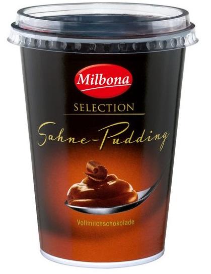 Sahne Pudding Vollmilch-Schokolade, Juli 2017