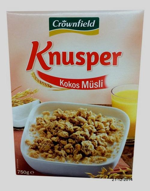 Knusper Müsli Kokos, Dezember 2014