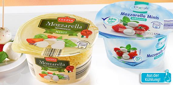 Mozzarella Minis, November 2012