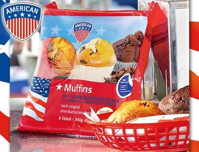 Muffins, 4x 90g, Juni 2013