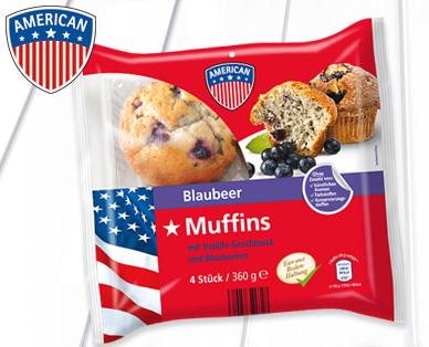 Muffins, 4x 90g, Juli 2014