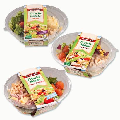 Frische Salate, Oktober 2012
