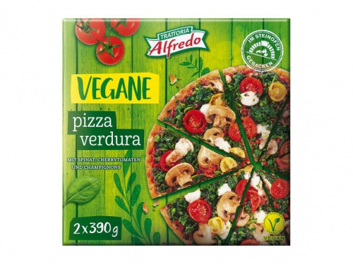 Pizza Vegan, 2x, M�rz 2019