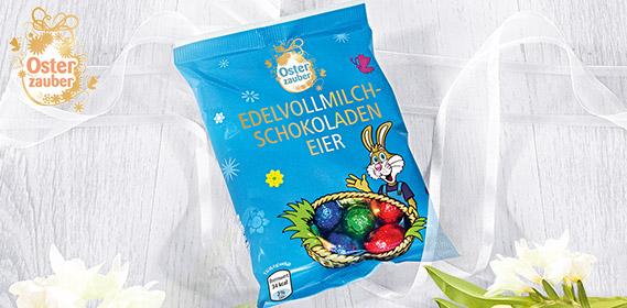 Edel-Vollmilch-Schokoladeneier, M�rz 2012
