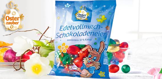 Edel-Vollmilch-Schokoladeneier, M�rz 2013