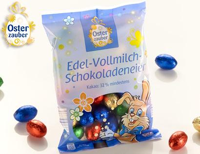 Edel-Vollmilch-Schokoladeneier, M�rz 2014