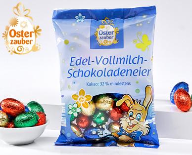 Edel-Vollmilch-Schokoladeneier, Februar 2015
