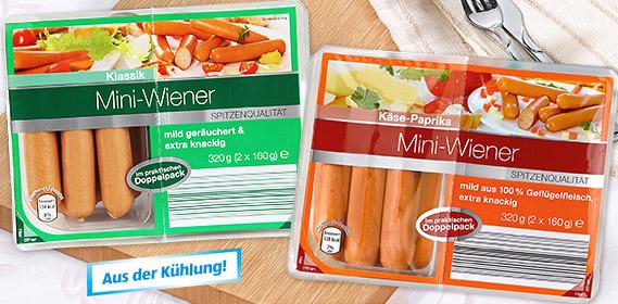 Mini-Wiener, 2x 160 g, M�rz 2012