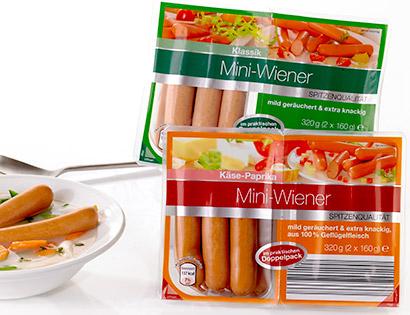 Mini-Wiener, 2x 160 g, Dezember 2013