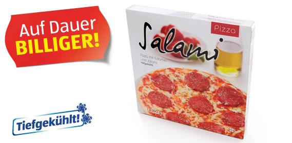 Salami-Pizza, M�rz 2012