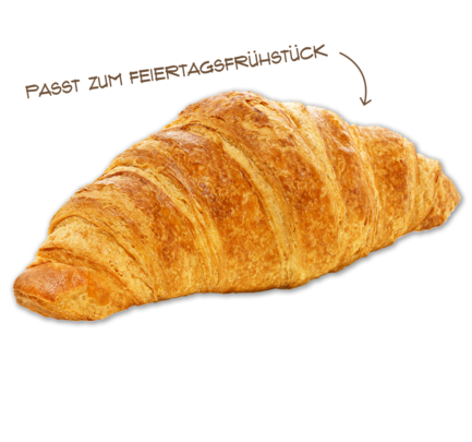 Buttercroissant, Dezember 2017
