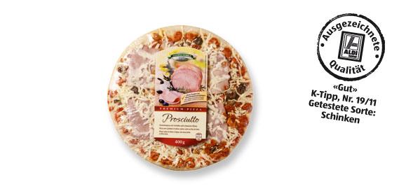 Premium-Pizza, M�rz 2012